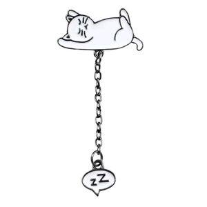 Jewelry - {5/$25} Zzz sleepy kitty pin 😻😴